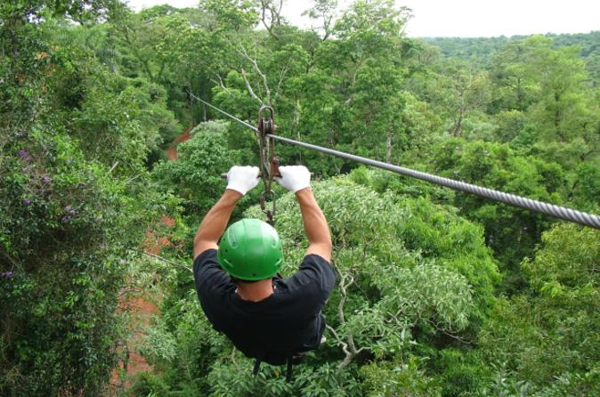 Iguazu forest eco adventure trekking ziplining and rappelling in puerto iguazu 166050