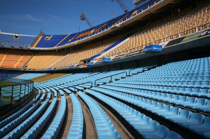 Ingresso para o museu e estádio do Boca Juniors