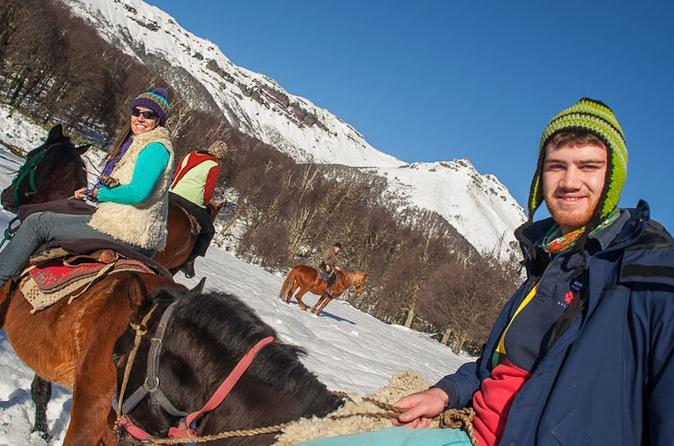 Lanin national park horseback riding tour quila quina valley and in san martin de los andes 183401