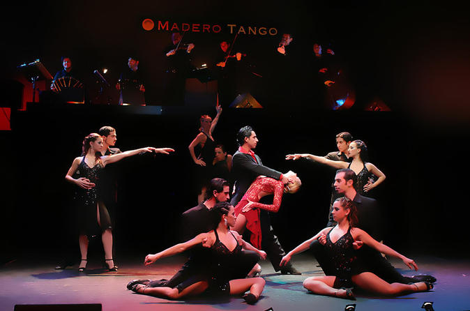 Madero Tango Show with Optional Dinner in Buenos Aires