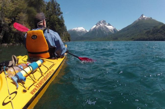 Mascardi Lake Kayaking and Trekking Tour from Bariloche