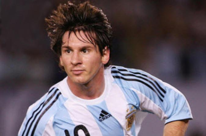 Partida de futebol em Buenos Aires