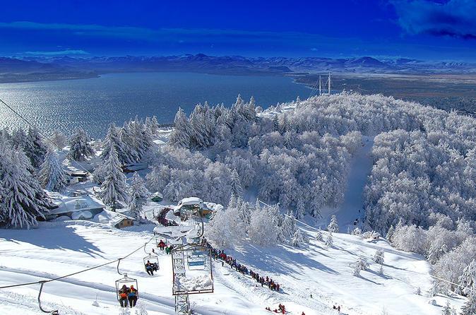 Sldege Experience at Piedras Blancas Snow Resort