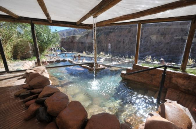 Spa day at termas de cacheuta with transport from mendoza in mendoza 165084