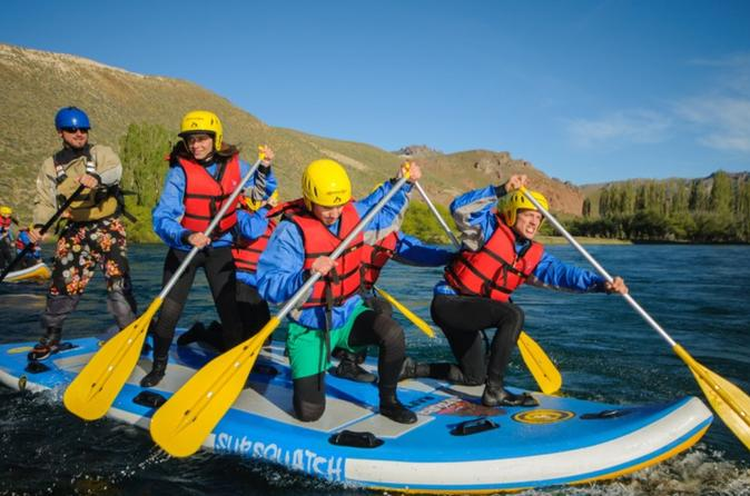 Stand Up Rafting Limay River From Bariloche