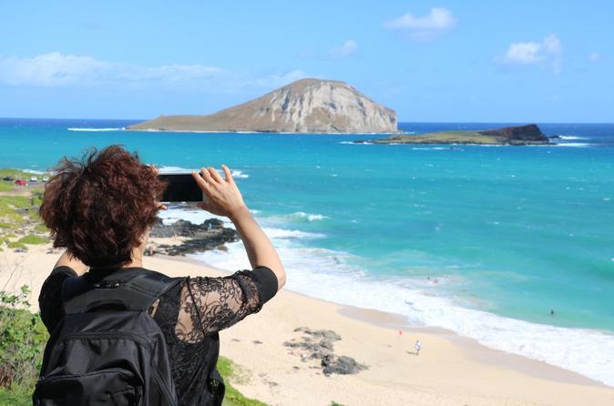 Excursão para grupos pequenos para a Ilha Oahu Circle