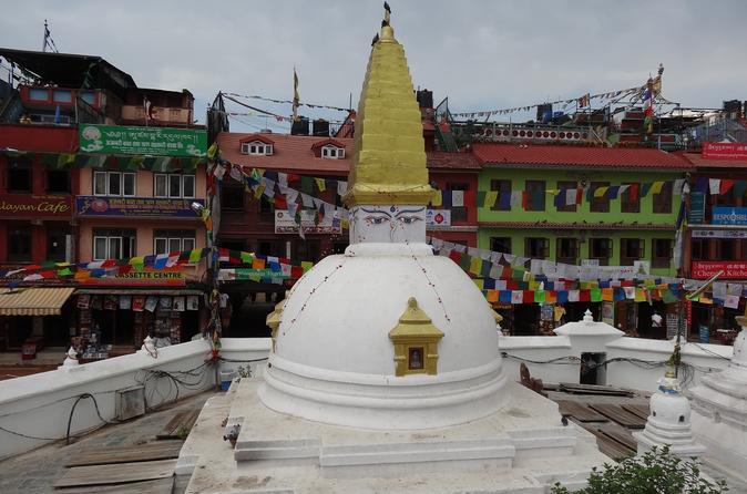 Half day Sightseeing of  Boudhanath Stupa and Pashupatinath Temple