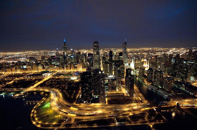 Tour in elicottero di Chicago by night