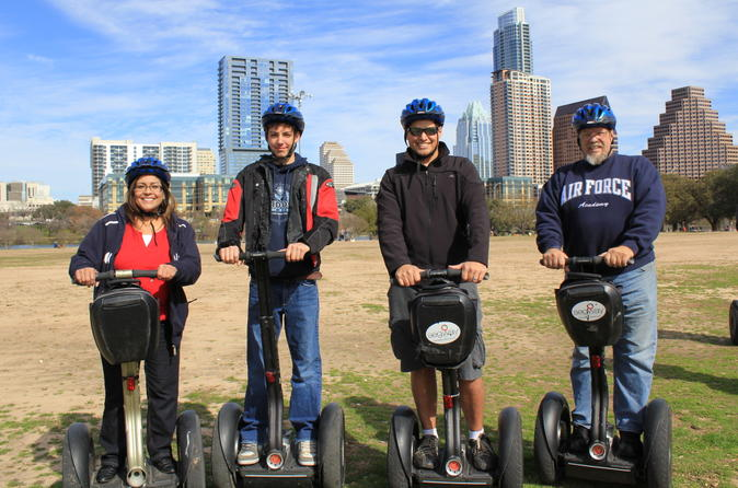 Downtown austin segway tour in austin 118970