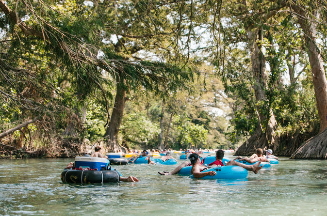 Half day of River Tubing on the San Marcos River from Austin