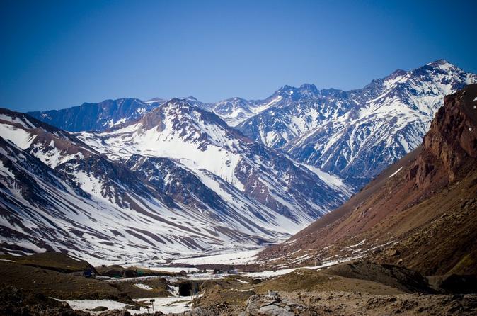 Passeio de um dia para os Andes partindo de Mendoza incluindo Aconcagua, Uspallata e Puente del Inca