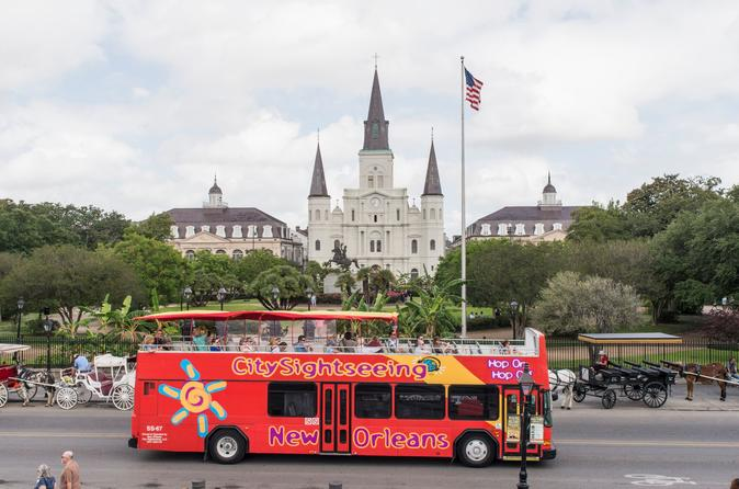 City Sightseeing New Orleans Hop-On Hop-Off Tour