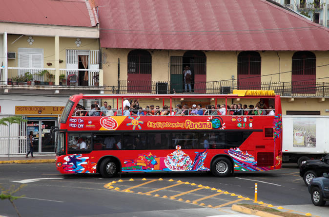 City Sightseeing Panama City HopOn HopOff Tour – Panama Tourist Attractions Map