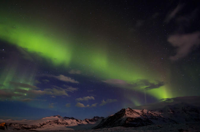Auroras, Volcanoes and Glacier Lagoon