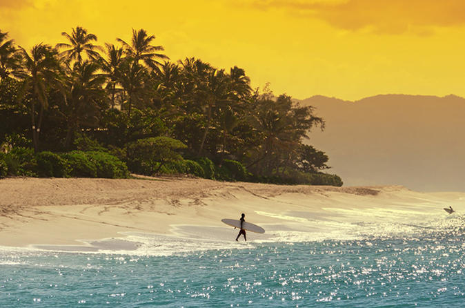 Intimate North Shore Eco-Fun Surf from Waikiki