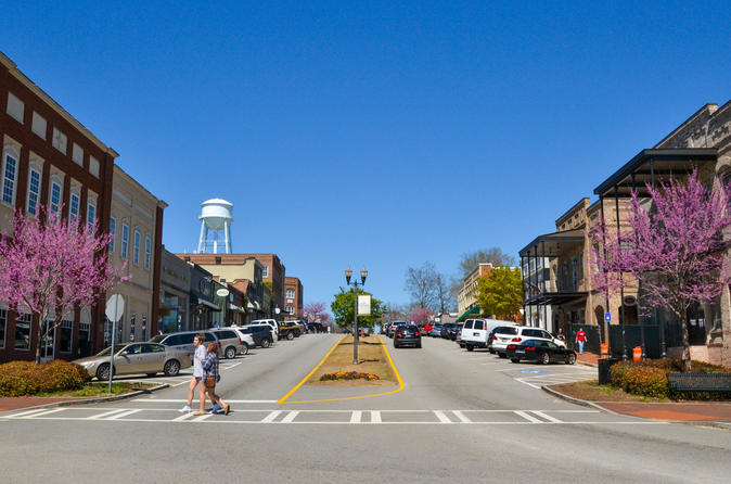 Big zombie walking dead tour in senoia in senoia 443149