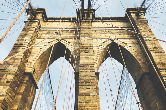 A Walk Over The Brooklyn Bridge - New York City