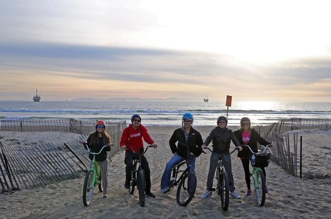 Biking, Sunset, Surf & Sips At Huntington Beach - Newport Beach