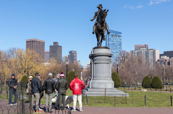 Boston History & Highlights Small Group Walking Tour