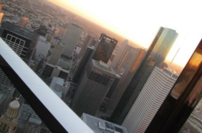 Houston from Above and Below: Chase Tower and Underground Tunnel Tour