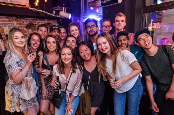 Guided Pub Crawl in Old Town Bucharest
