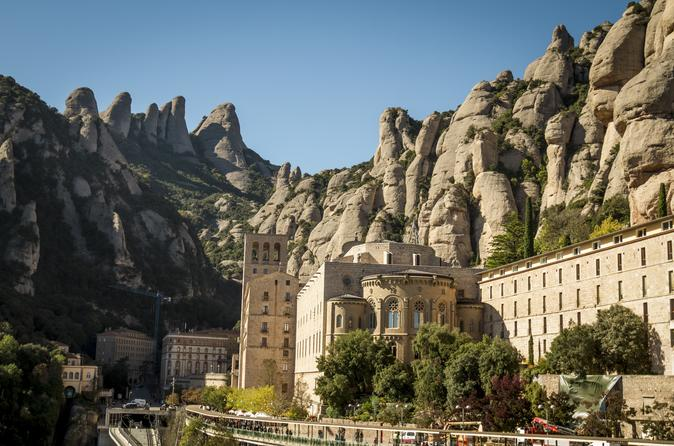 Montserrat and oller del mas winery tour from barcelona in barcelona 583586