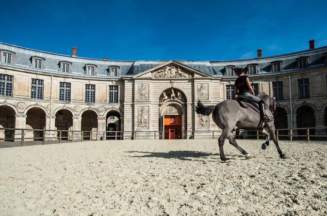 Versailles Behind the Scenes of the Royal Stables at Versailles Palace in French France, Europe