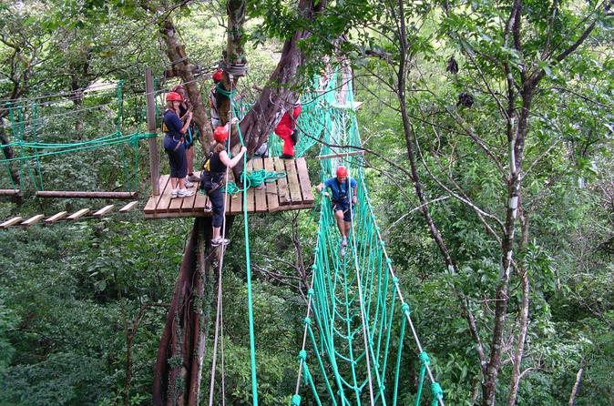 High ropes tour at adventure park from jaco in jaco 389225