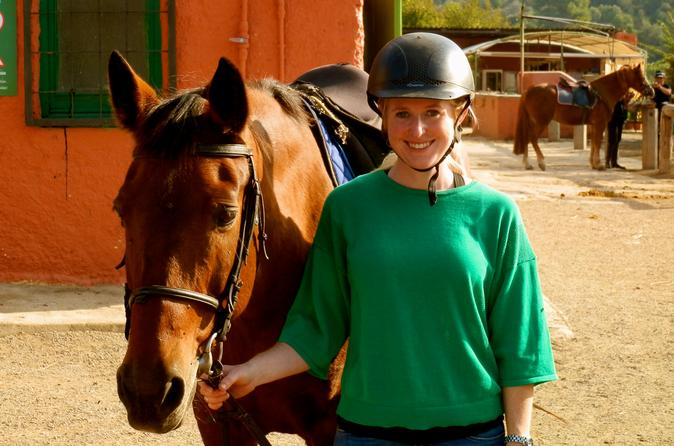 Private Half-Day Tour in Natural Park with Horseback Riding in Barcelona