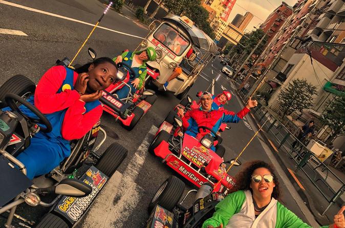 Half-Day Street Go-Kart Tour in Asakusa