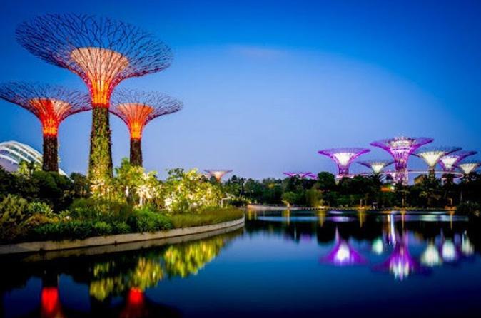 Ingresso para os Jardins da Baía de Singapura