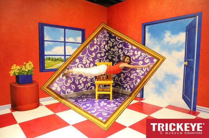 Trick Eye Museum Singapore Admission Ticket