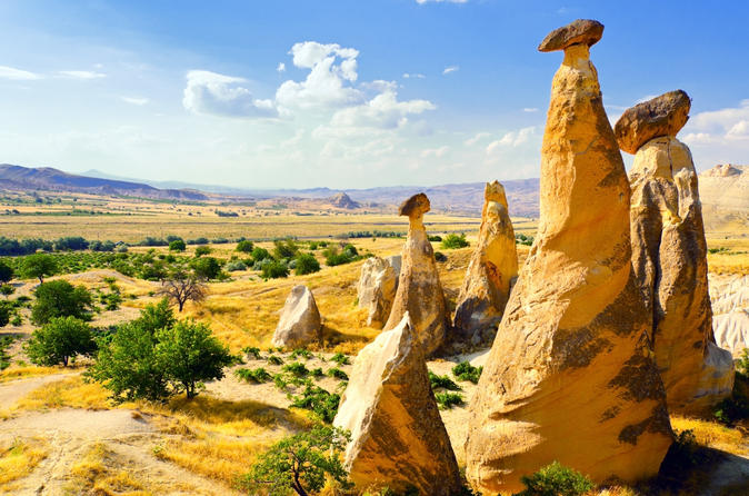Daily Cappadocia Tour From Istanbul with Return Flights Included