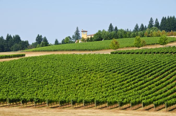 Willamette Wine Country Bike Tour from Portland