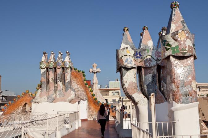 Evite as filas: Excursão a pé guiada pela Casa Batllo e Gaudi em Barcelona