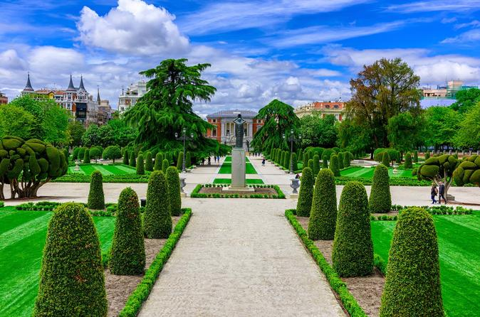 Retiro Park in Madrid Spain