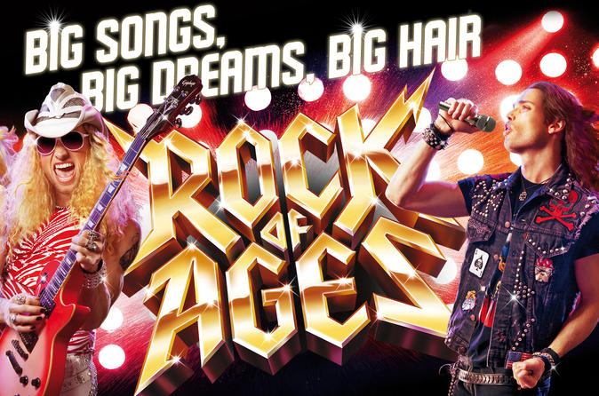 Rock of Ages in het Rio All-Suite Hotel and Casino