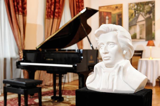 Concerto de piano de Chopin na Galeria Chopin em Cracóvia
