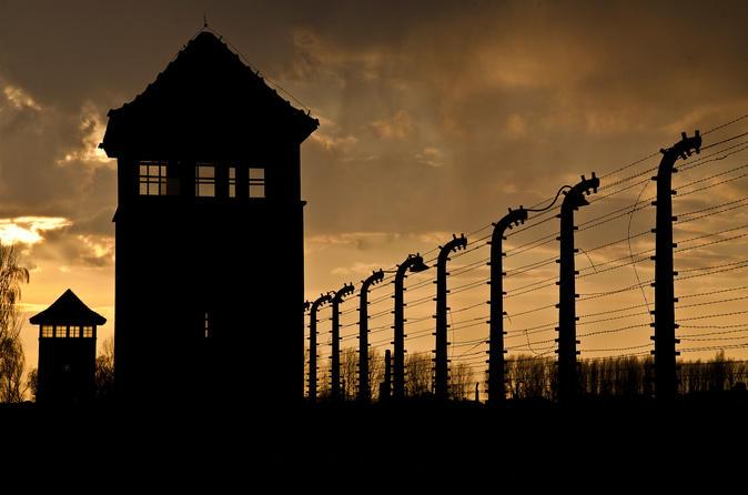 Cracóvia supereconômico: Excursão de meio dia em Auschwitz-Birkenau e excursão de meio dia na mina de sal Wieliczka