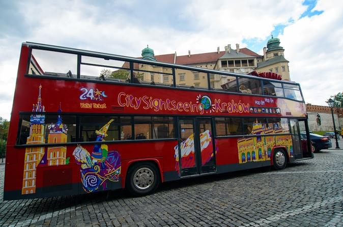 Krakow 48h Hop-on Hop-off Tour with Museums and Attractions Pass