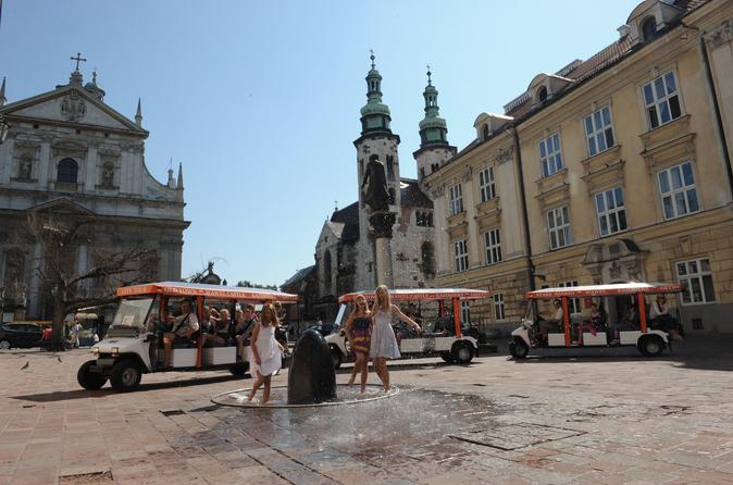 Krakow City Sightseeing Private Tour by Eco Friendly Electric Car With Live Guide