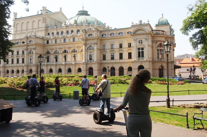 Small-Group Krakow Old Town or Kazimierz Jewish District Segway Tour