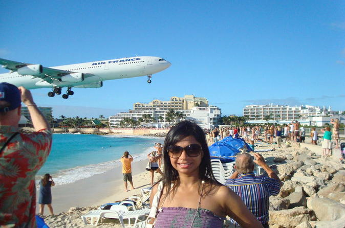 St Maarten Shore Excursion: Orient and Maho Beach Half-Day Tour