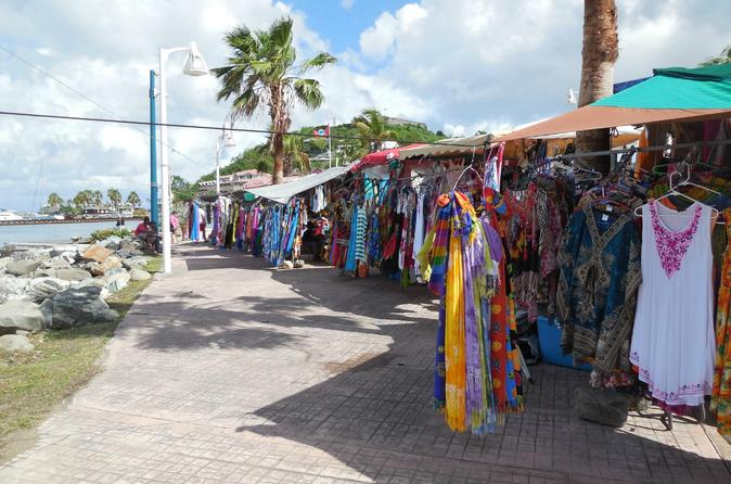 St-Martin and St Maarten Island Sights, Shopping and Maho Beach Tour