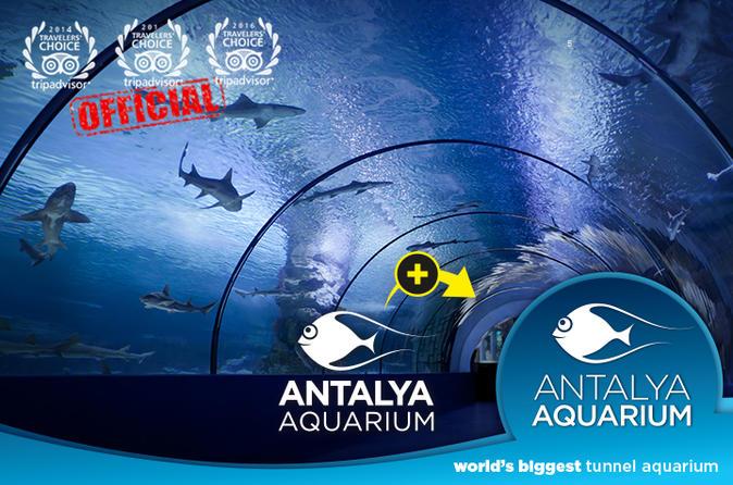 Admission Ticket: Antalya Aquarium
