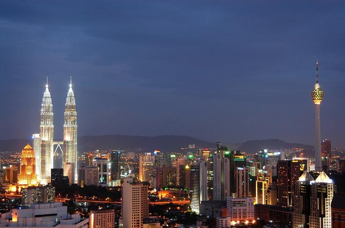 Kuala Lumpur 2-Hour Dinner at KL Tower Revolving Restaurant with 1-Way Transfer Malaysia, Asia