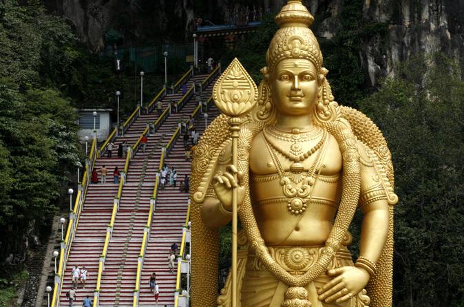 Excursão às Cavernas e Templo de Batu saindo de Kuala Lumpur