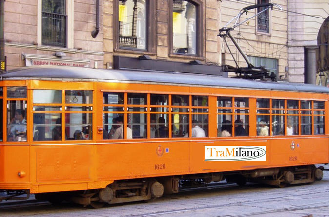 Milan Hop-On Hop-Off Tour by Vintage Tram with MilanoCard