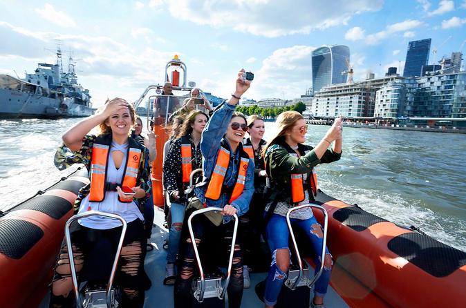 High-Speed Boat Trip through London