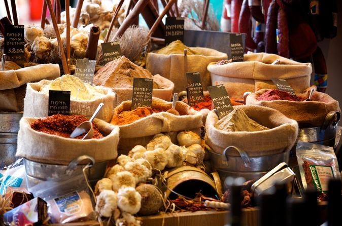 Private gourmet food walking tour in athens in athens 158496
